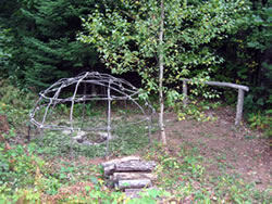 Sweat lodge - Casco Maine